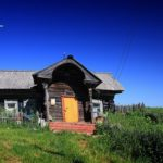 The sceneries of disappearing Russian village