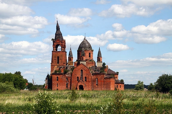 Ryazan oblast, Russia architecture view