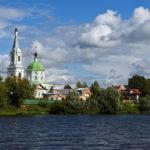 The photo tour of Tver city streets