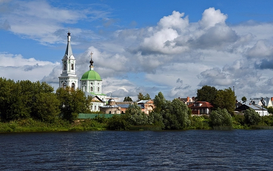 Tver city, Russia view