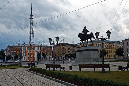 Tver city, Russia view