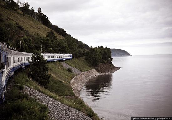 Circum-Baikal Railway, Russia view