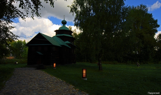Kostroma city, Russia open air museum