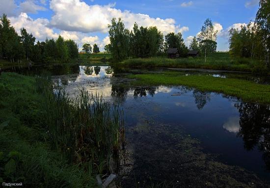 Kostroma city, Russia open air museum