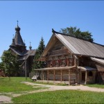 The museum of Russian wooden architecture