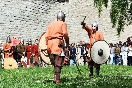 Staraya Ladoga, Russia Middle Ages Festival