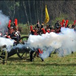 Borodino battle reconstruction – battlefield sceneries