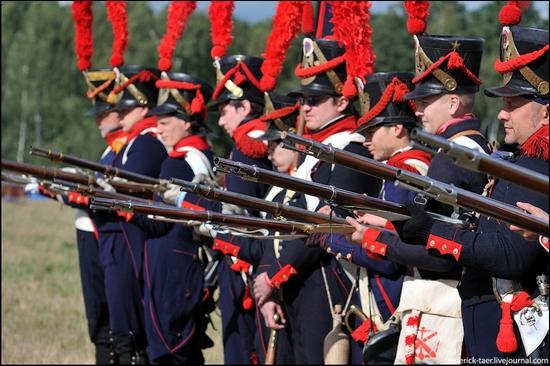 Borodino battle reconstruction, Russia