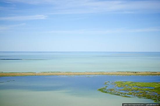Chany lake, Siberia, Russia view