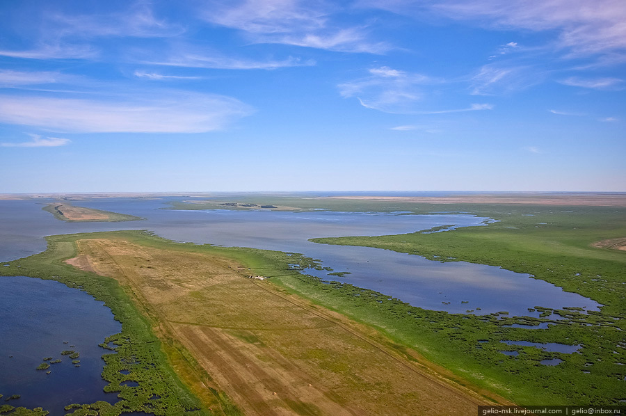 The largest lake of Western Siberia views · Russia travel blog - photo#33
