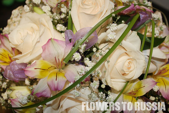 Sending flowers to Russia