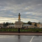 Kostroma city beautiful architecture