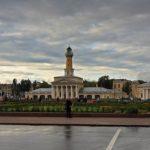 Kostroma city beautiful architecture