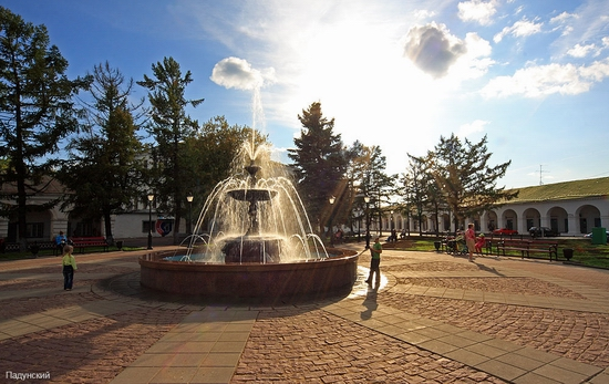 Kostroma city, Russia view