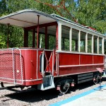 The museum of electric transport of Nizhny Novgorod city