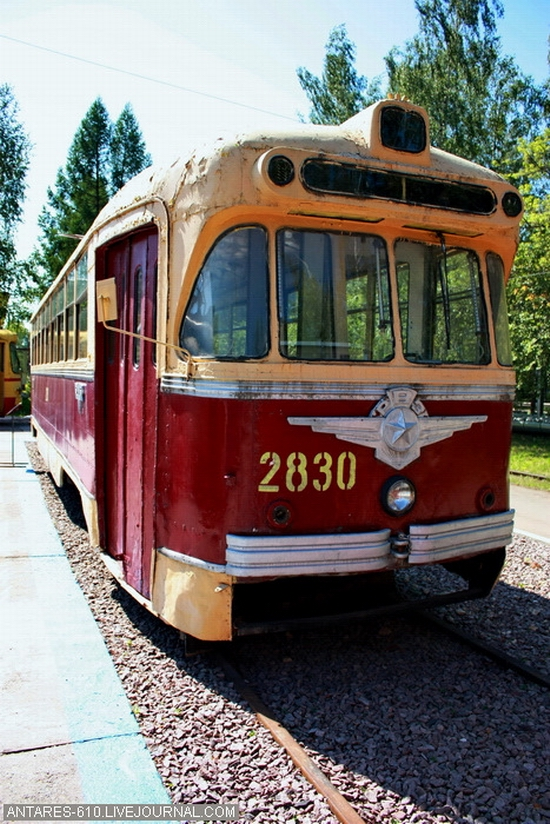 Nizhny Novgorod, Russia electric transport museum