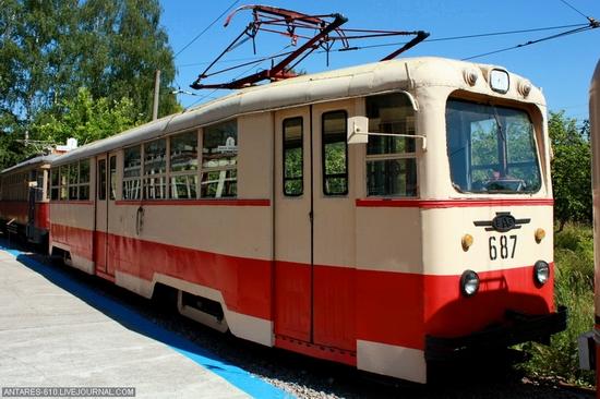Nizhny Novgorod, Russia electric transport museum