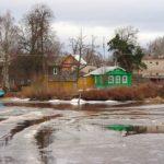 The views of provincial Russian town Poshekhonye
