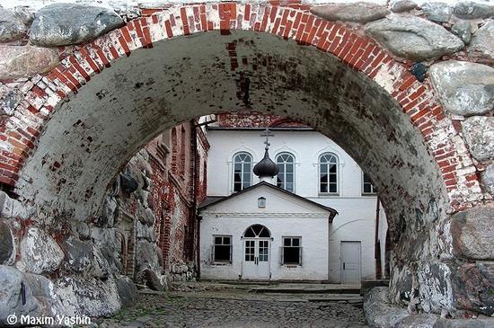 Solovki monastery, Russia view