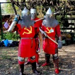 Soviet knights of Mother Russia