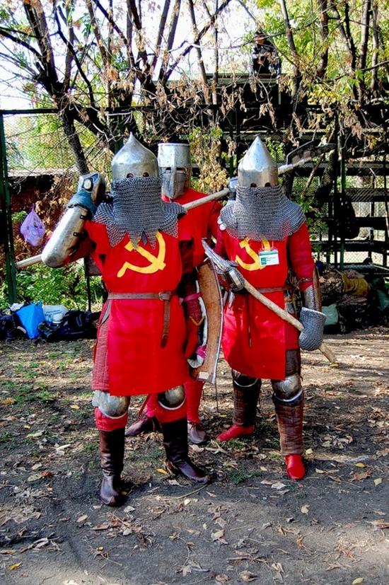 Soviet knights of Russia