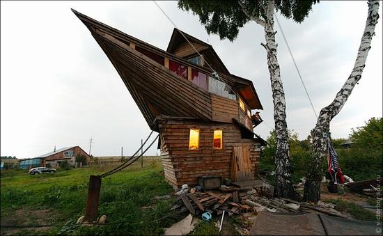 Kemerovo oblast, Russia ship-house view 8