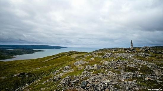 Kolskiy peninsula, Russia abandoned military base view 11