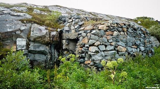 Kolskiy peninsula, Russia abandoned military base view 12