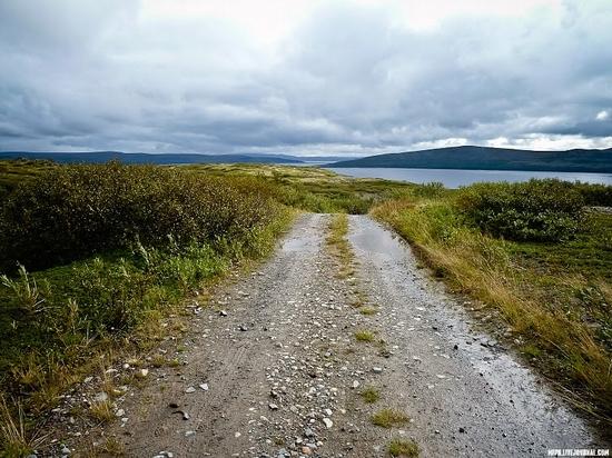 Kolskiy peninsula, Russia abandoned military base view 15