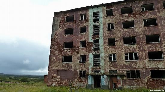 Kolskiy peninsula, Russia abandoned military base view 7