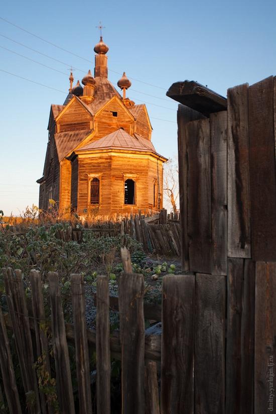 Krasnoyarsk krai, Russia abandoned wooden church 10