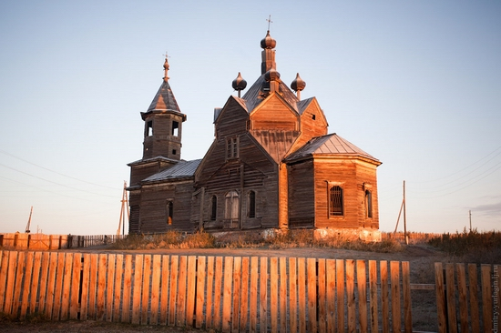 Krasnoyarsk krai, Russia abandoned wooden church 11