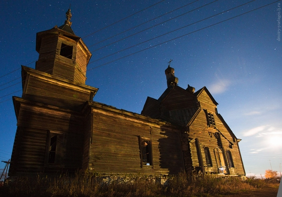 Krasnoyarsk krai, Russia abandoned wooden church 13