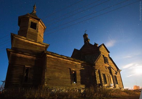Krasnoyarsk krai, Russia abandoned wooden church 13