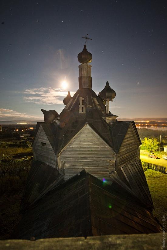 Krasnoyarsk krai, Russia abandoned wooden church 7