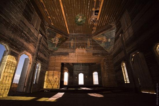 Krasnoyarsk krai, Russia abandoned wooden church 8