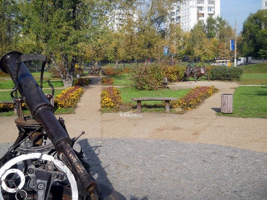 Moscow city, Russia Signs of the Zodiac park view 13