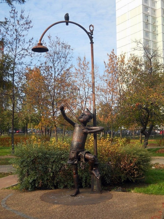 Moscow city, Russia Signs of the Zodiac park view 7