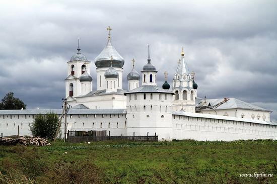 Nikitsky monastery, Yaroslavl oblast, Russia view 1