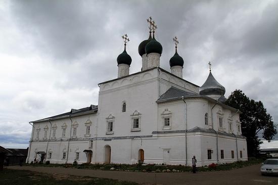 Nikitsky monastery, Yaroslavl oblast, Russia view 3