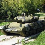 The inflatable power of Russian army