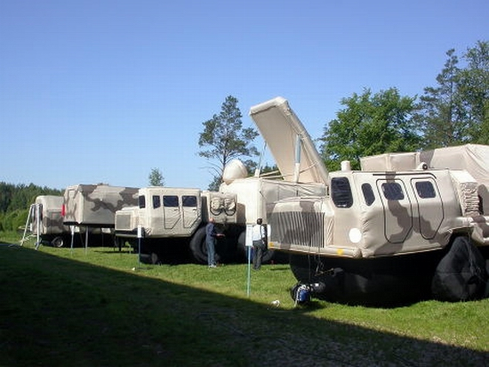 Russian inflatable war machines view 4th photo