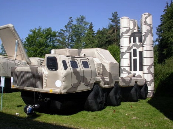 Russian inflatable war machines view 5th photo