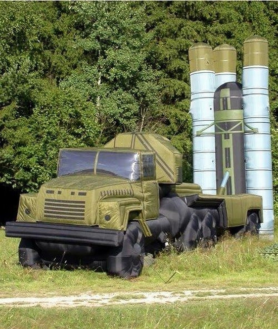 Russian inflatable war machines view 8th photo