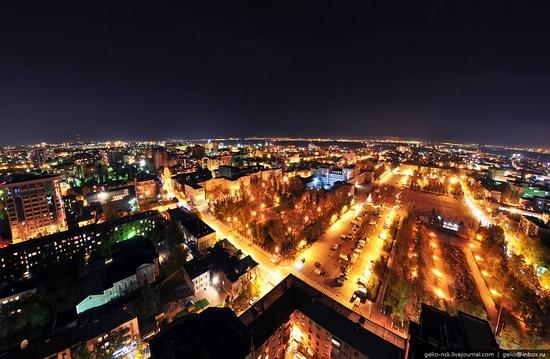 Samara city, Russia night view 1