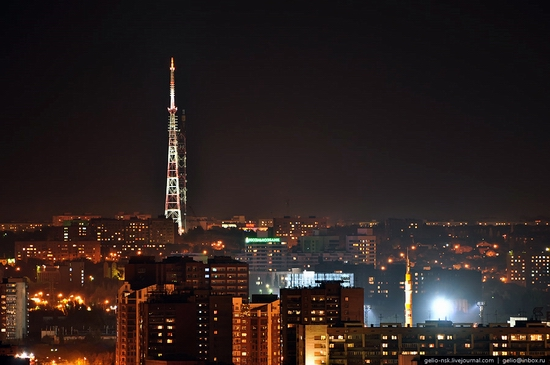 Samara city, Russia night view 11