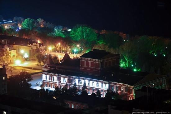 Samara city, Russia night view 14