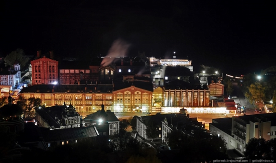 Samara city, Russia night view 15