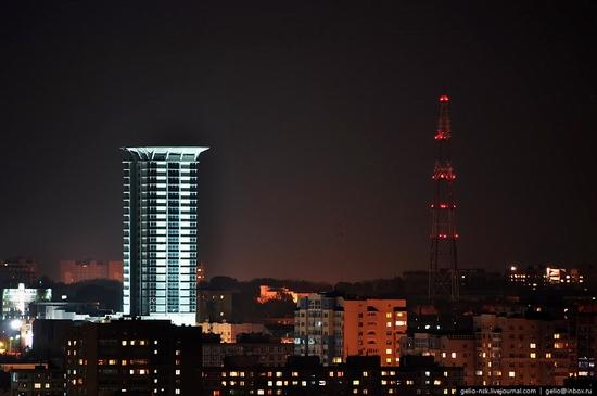 Samara city, Russia night view 16