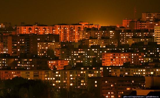 Samara city, Russia night view 17